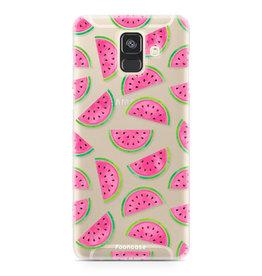 FOONCASE Samsung Galaxy A6 2018 - Wassermelone