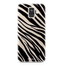 FOONCASE Samsung Galaxy A6 2018 - Zebra