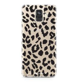 FOONCASE Samsung Galaxy A6 2018 - Leopard