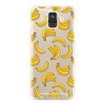 FOONCASE Samsung Galaxy A6 2018 - Bananas