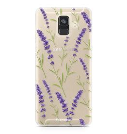 Samsung Samsung Galaxy A6 2018 - Purple Flower