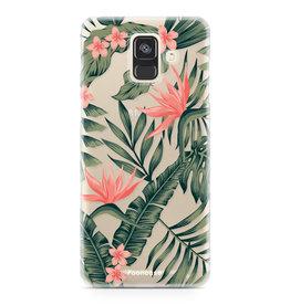 FOONCASE Samsung Galaxy A6 2018 - Tropical Desire