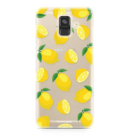 FOONCASE Samsung Galaxy A6 2018 - Lemons