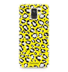 FOONCASE Samsung Galaxy A6 2018 - WILD COLLECTION / Yellow