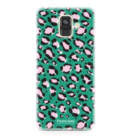 Apple Samsung Galaxy A6 2018 - WILD COLLECTION / Groen