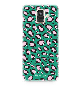 FOONCASE Samsung Galaxy A6 2018 - WILD COLLECTION / Groen