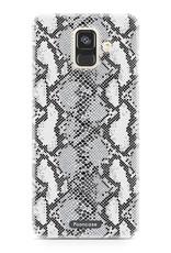 FOONCASE Samsung Galaxy A6 2018 hoesje TPU Soft Case - Back Cover - Snake it / Slangen print