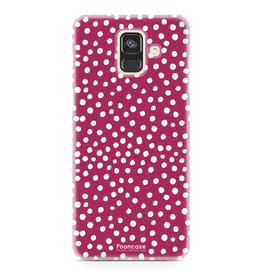 Samsung Samsung Galaxy A6 2018 - POLKA COLLECTION / Red