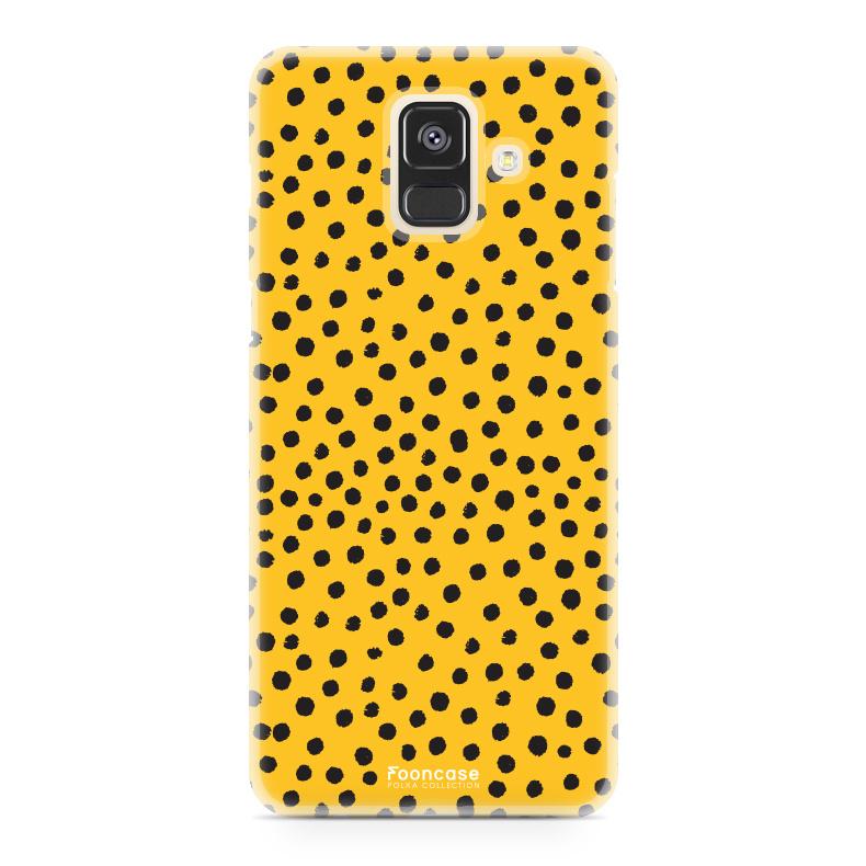 Samsung Samsung Galaxy A6 2018 - POLKA COLLECTION / Ockergelb