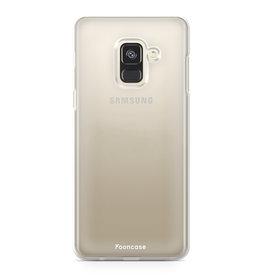 FOONCASE Samsung Galaxy A6 2018 - Transparant