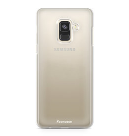 FOONCASE Samsung Galaxy A6 2018 - Transparent