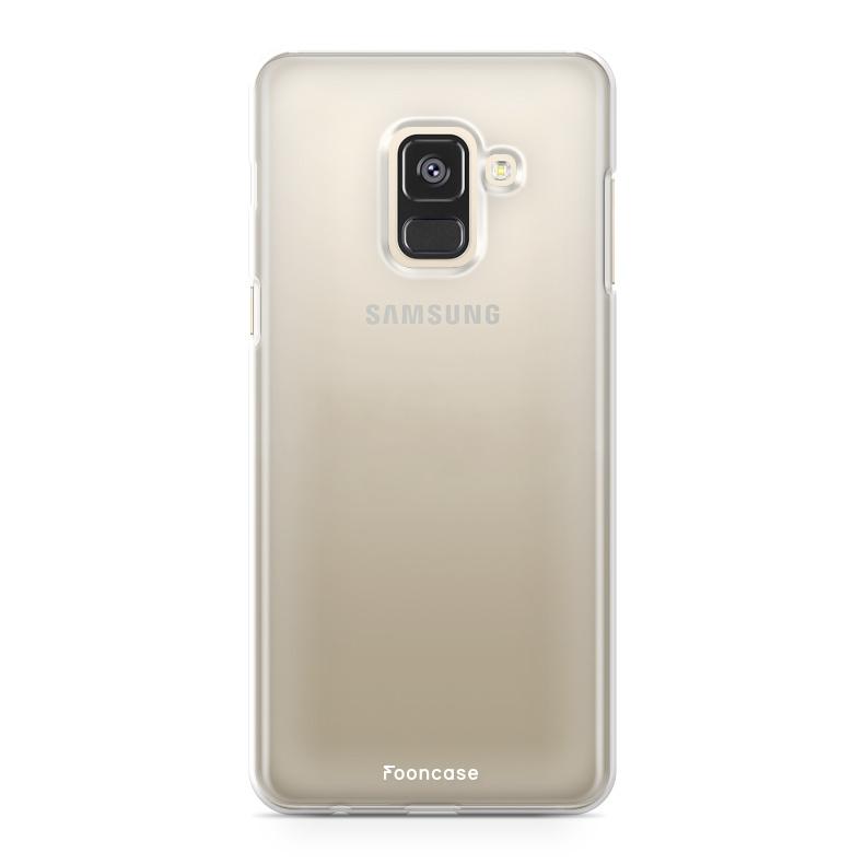 FOONCASE Samsung Galaxy A6 2018 Handyhülle - Transparant