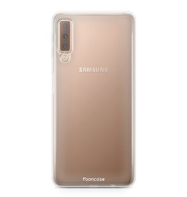 FOONCASE Samsung Galaxy A7 2018 - Transparent
