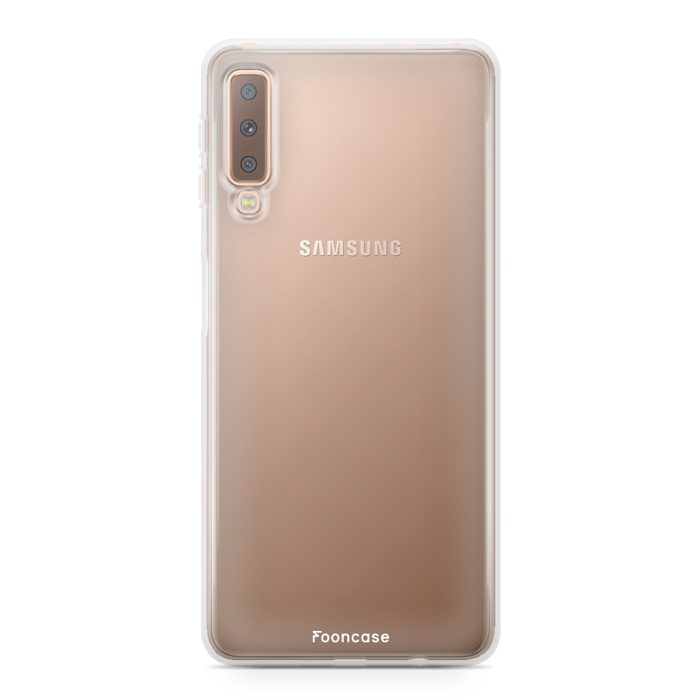 FOONCASE Samsung Galaxy A7 2018 Handyhülle - Transparant
