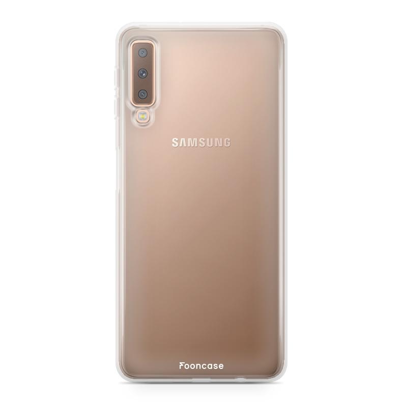 Samsung Samsung Galaxy A7 2018 Handyhülle - Transparant