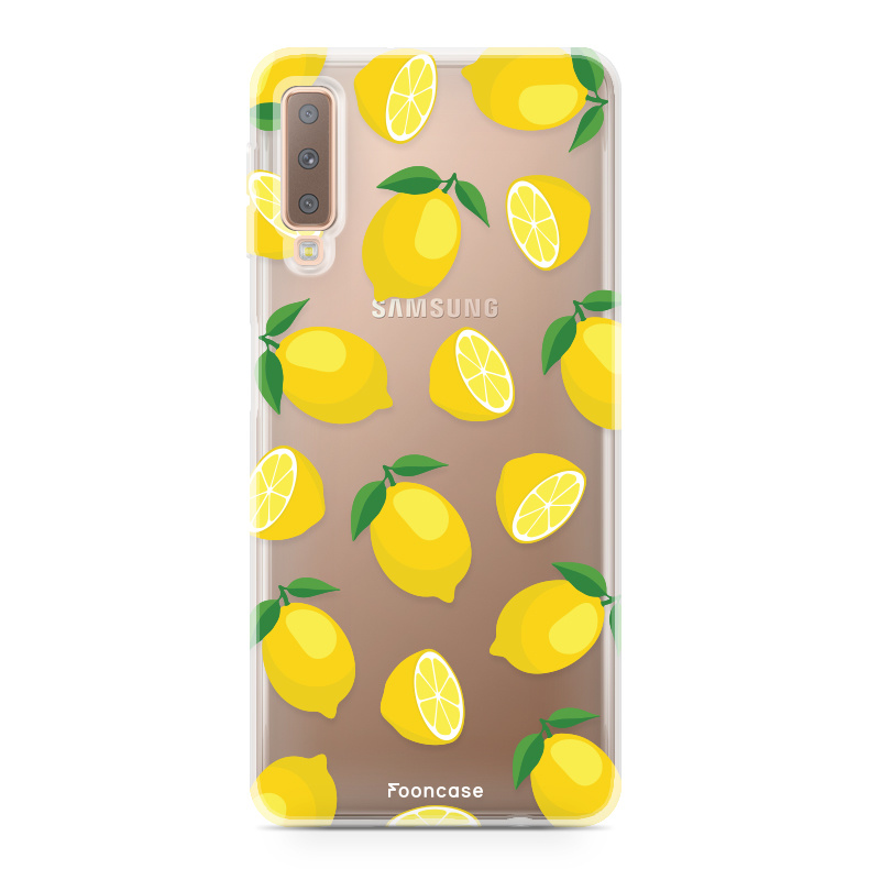 Samsung Samsung Galaxy A7 2018 Handyhülle - Lemons