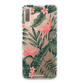 FOONCASE Samsung Galaxy A7 2018 - Tropical Desire