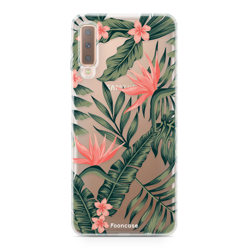 Samsung Samsung Galaxy A7 2018 Handyhülle -Tropical Desire