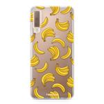 FOONCASE Samsung Galaxy A7 2018 - Bananas