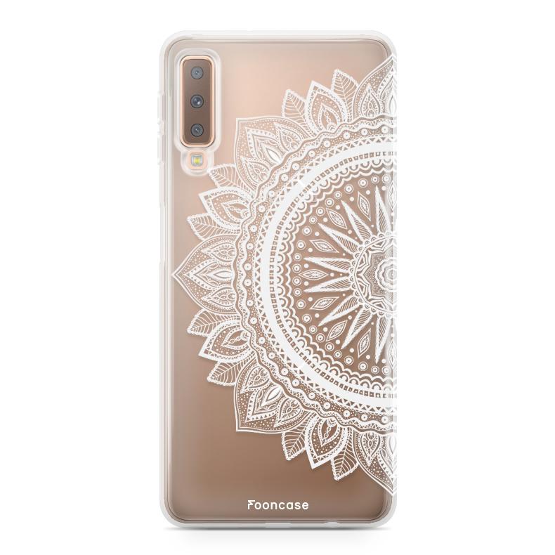 FOONCASE Samsung Galaxy A7 2018 Handyhülle - Mandala