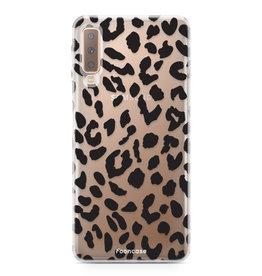 FOONCASE Samsung Galaxy A7 2018 - Leopard