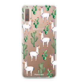 FOONCASE Samsung Galaxy A7 2018 - Alpaca