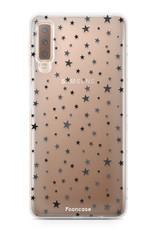 Samsung Samsung Galaxy A7 2018 Handyhülle - Sterne