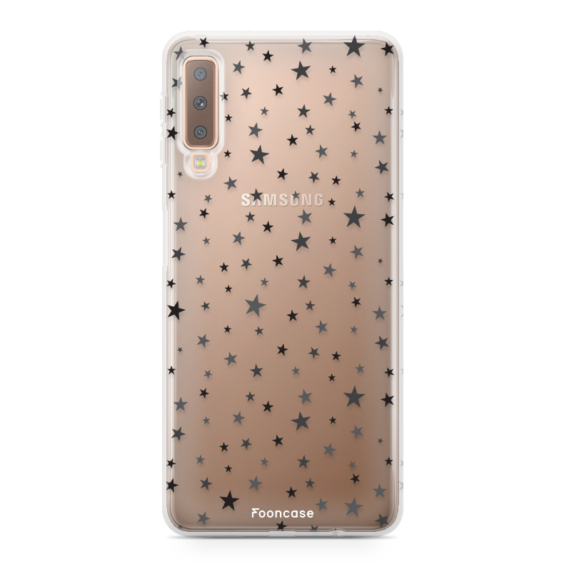 Samsung Samsung Galaxy A7 2018 hoesje - Sterretjes