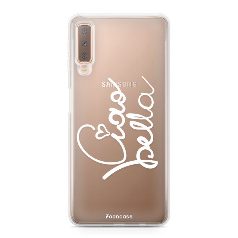 FOONCASE Samsung Galaxy A7 2018 Handyhülle - Ciao Bella!