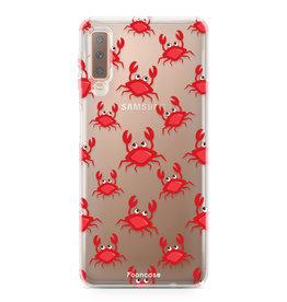 FOONCASE Samsung Galaxy A7 2018 - Crabs