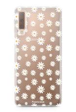 FOONCASE Samsung Galaxy A7 2018 Handyhülle - Gänseblümchen