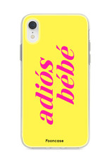 Apple Iphone XR Handyhülle - Adiós Bébé ☀