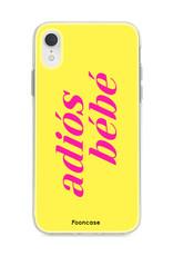 Apple Iphone XR hoesje - Adiós Bébé ☀