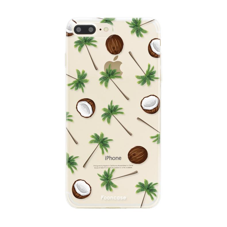 FOONCASE Iphone 8 Plus Handyhülle - Coco Paradise