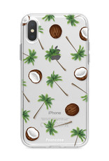 FOONCASE Iphone XS Handyhülle - Coco Paradise