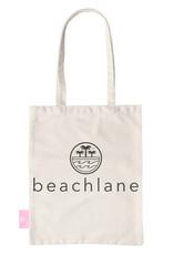BEACHLANE BEACHLANE - Canvas Tote Bag - Logo