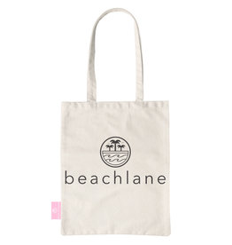 BEACHLANE BEACHLANE - Canvas Tote Bag - Logo