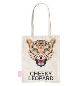 FOONCASE BEACHLANE - Canvas Tote Bag - Cheeky Leopard
