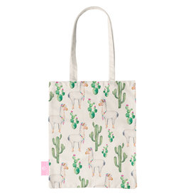 BEACHLANE BEACHLANE - Canvas Tote Bag - Alpaca
