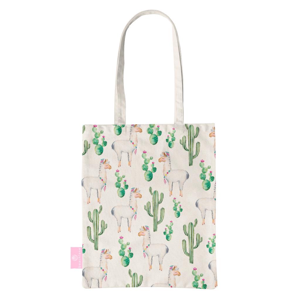 FOONCASE BEACHLANE - Canvas Tote Bag - Alpaca / Lama