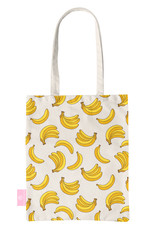 BEACHLANE BEACHLANE - Canvas Tote Bag - Bananas
