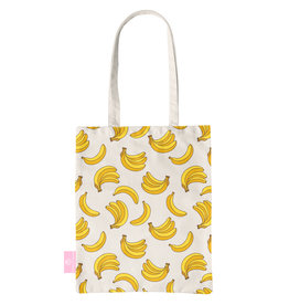 BEACHLANE BEACHLANE - Canvas Tote Bag - Bananas