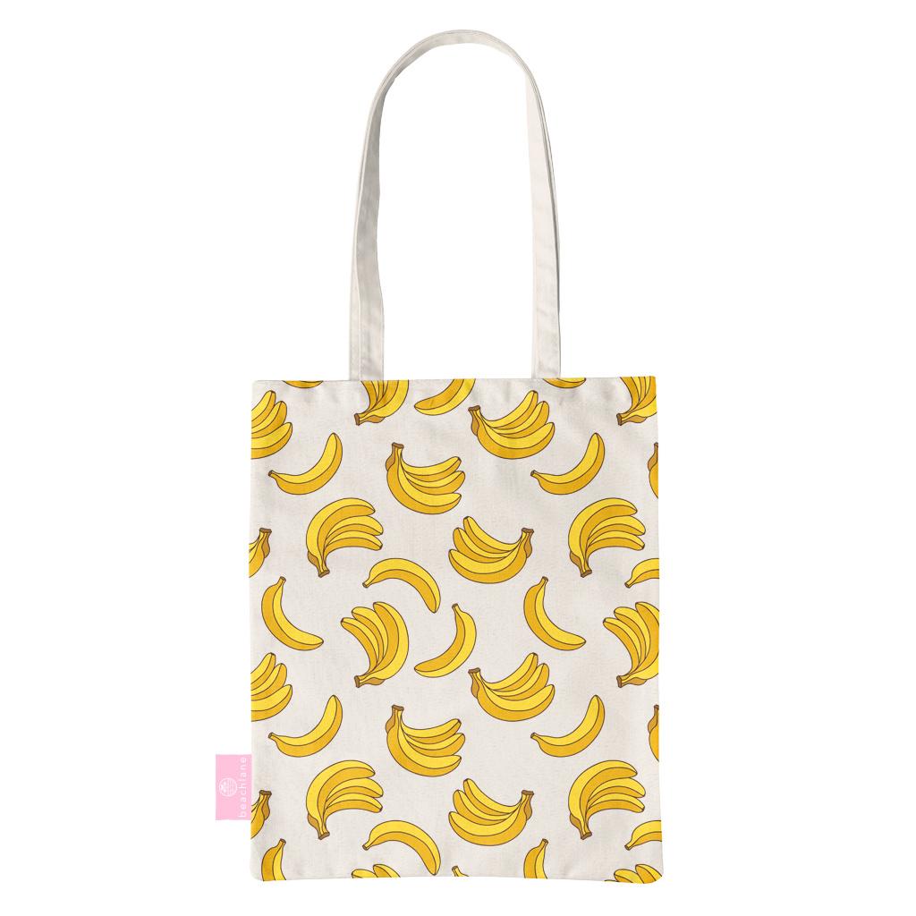 FOONCASE BEACHLANE - Canvas Tote Bag - Bananas