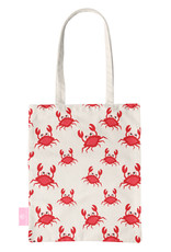 FOONCASE BEACHLANE - Canvas Tote Bag - Crabs / Krabbetjes / Krabben