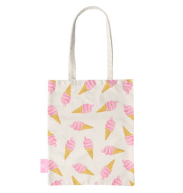 BEACHLANE BEACHLANE - Canvas Tote Bag - Ice Ice Baby