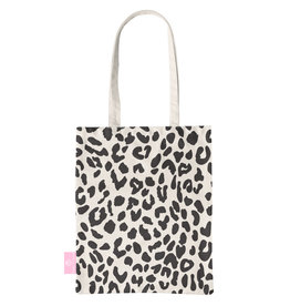BEACHLANE BEACHLANE - Canvas Tote Bag - Leopard