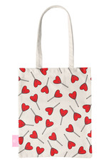 FOONCASE BEACHLANE - Canvas Tote Bag - Love Pop