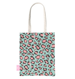 BEACHLANE BEACHLANE - Canvas Tote Bag - Wild Collection - Blue