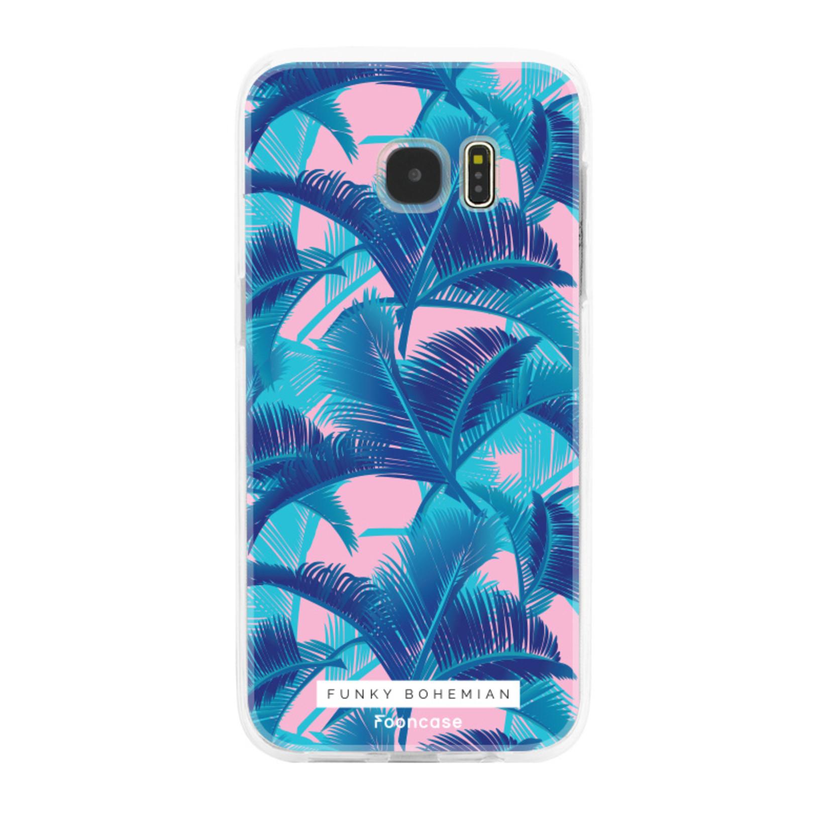 FOONCASE Samsung Galaxy S7 Edge Handyhülle - Funky Bohemian