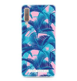 FOONCASE Samsung Galaxy A7 2018 - Funky Bohemian